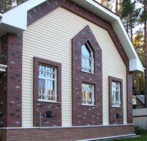 Ремонт и отделка фасада частного дома