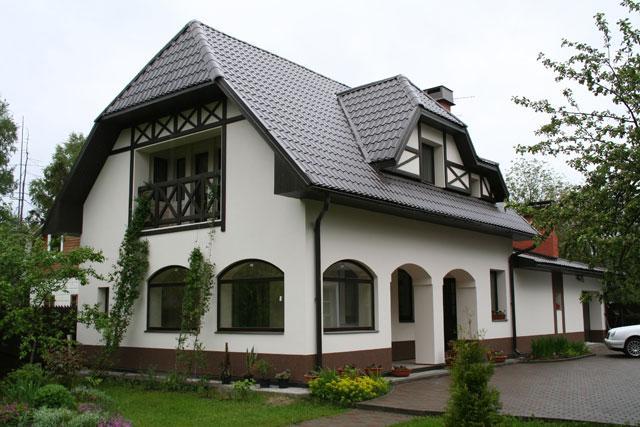 Штукатурка фасадов домов