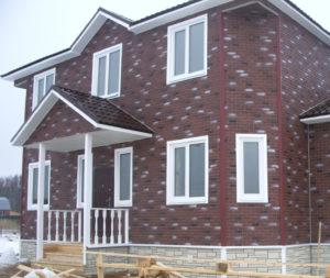 Сайдинг для фасадов частных домов из пластика