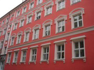 Способы ремонта фасада здания