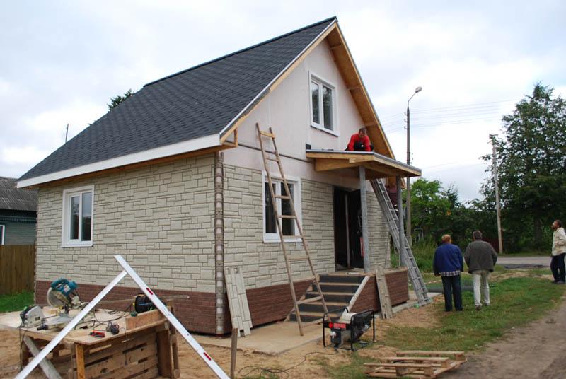 Строительство из СИП-панелей - канадская технология панельного домостроения