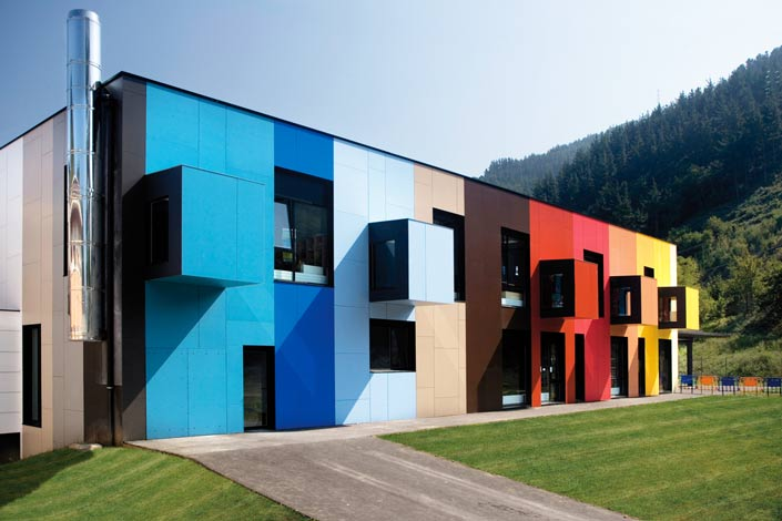 Цветовое решение фасадов