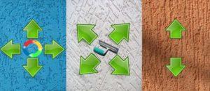 Технология нанесения штукатурки короед