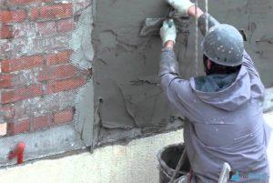 Утепление фасада штукатурной смесью