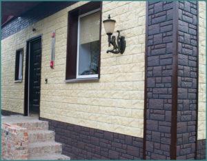 Виды отделки фасадов частных домов фасадными панелями