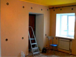 Внутреннее утепление стен квартиры