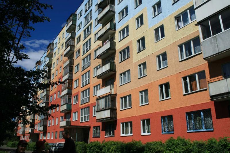 Защита фасадов с помощью окрашивания