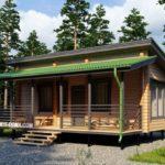 Как оформить стильный фасад с односкатной крышей