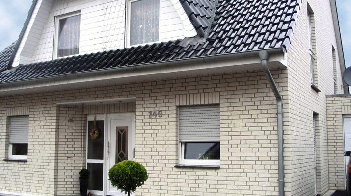 Фасадные панели под кирпич белого цвета