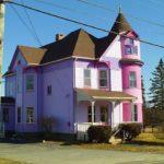 Фиолетовый фасад