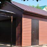 Используем красивый бордовый фасад