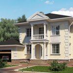 Как оформить современный фасад с террасой