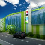 Как правильно использовать зеленые панели для фасада