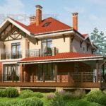Как правильно оформить фасад с террасой