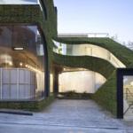 Как правильно оформить современный круглый фасад