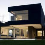 Как создать черный фасад
