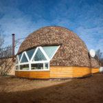 Как создать красивое оформления круглого фасада