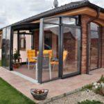 Как создать красивый фасад с террасой