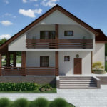 Как выбрать двухскатную практичную крышу для создания фасада