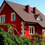 Как выбрать красный фасад