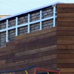 Как выглядит деревянный фасад