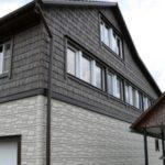 Как выглядят белые панели для фасада