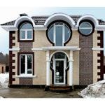Как выглядят круглые окна фасада