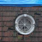 Круглые окна фасада