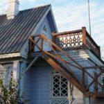 Лестница для создания красивого фасада