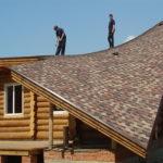 Односкатная крыша для оформления фасада