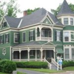 Основные особенности зеленого фасада