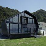 Особенности применения черного фасада