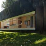Панели для фасада черного цвета