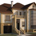 Правила оформления фасада с балконом