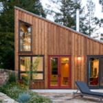 Применение односкатной крыши для создания красивого фасада