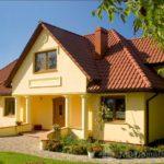 Пример фасада, выполненного в желтом цвете
