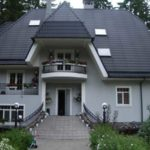 Приятный серый фасад
