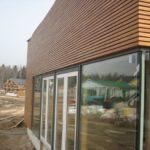 Вариант деревянного фасада дома