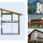 Варианты современного фасада с односкатной крышей