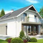 Выбираем фасад с двухскатной крышей