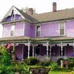 Выбираем фиолетовый фасад