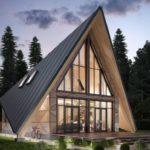 Выбираем современный фасад треугольной формы
