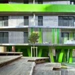 Выбираем зеленый фасад