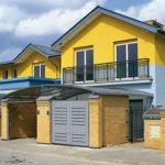 Желтый фасад для обустройства дома
