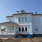 голубой фасад