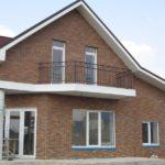 панели коричневого цвета для фасада