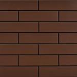 Клинкерная плитка под кирпич коричневого цвета для фасада