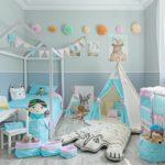 Правила оформления детской комнаты