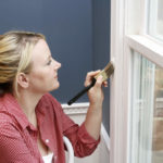Как правильно окрасить пластиковое окно