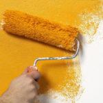 Покраска стен, как украшение интерьера